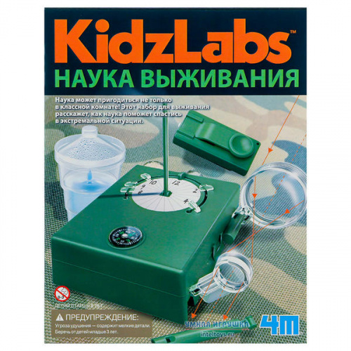 Набор «Наука выживания – Kidz Labs», 4M