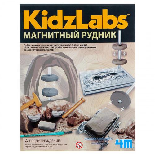 Набор 4M «Магнитный рудник – Kidz Labs»