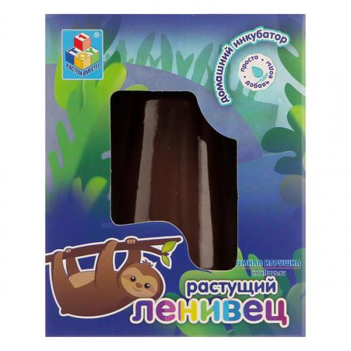 Растущая игрушка «Ленивец – Домашний инкубатор», 1TOY (1ТОЙ)