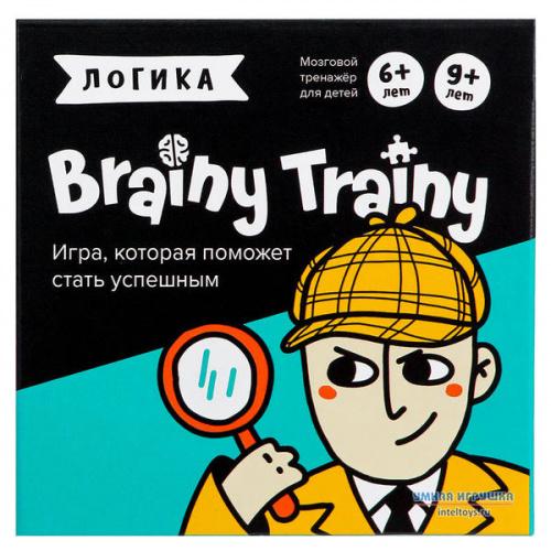 Развивающая игра-головоломка «Логика», Brainy Trainy (Брейни Трейни)