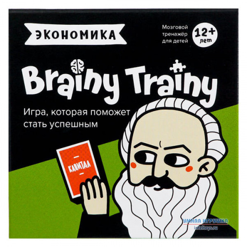 Развивающая игра-головоломка «Экономика», Brainy Trainy (Брейни Трейни)