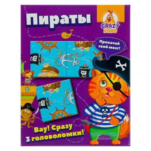 Головоломка «Пираты», Vladi Toys (Влади Тойс)
