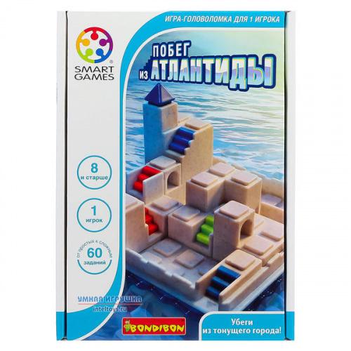 Логическая игра «Побег из Атлантиды», Bondibon (Бондибон)