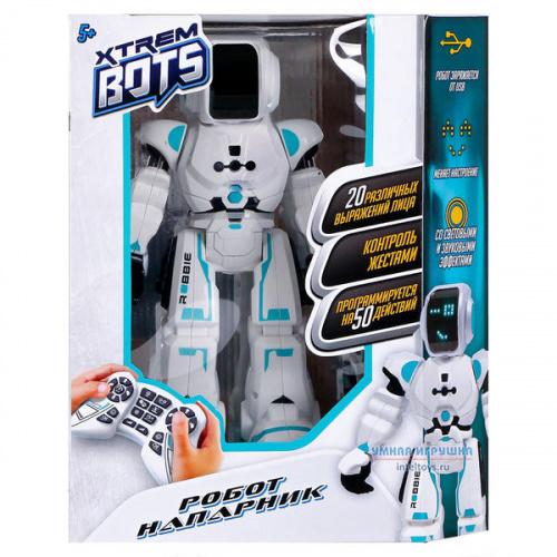 Интерактивный робот «Напарник» на радиоуправлении, Xtrem Bots