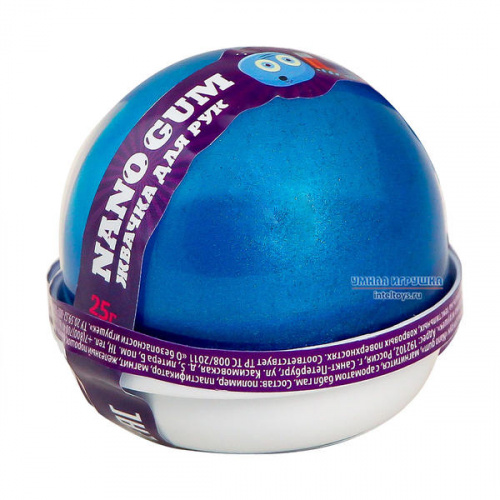 Магнитная жвачка для рук с ароматом «Бабл-гам», Nano gum (Нано гам)