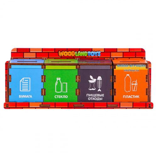 Развивающая игрушка «Сортировка мусора», Woodland (Вудлэнд)
