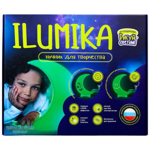 Развивающий набор Илюмика «Ночник для творчества – Луна», ILUMIKA
