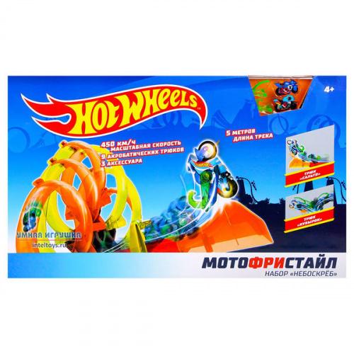 Набор Hot Wheels «Мотофристайл – Небоскреб», 1TOY (1ТОЙ)