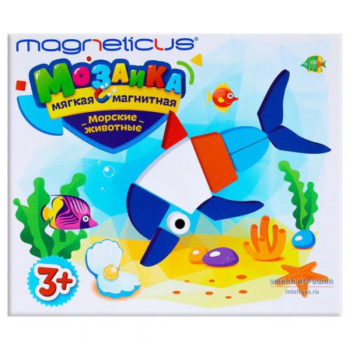 Магнитная мозаика «Морские животные», Magneticus (Магнетикус)