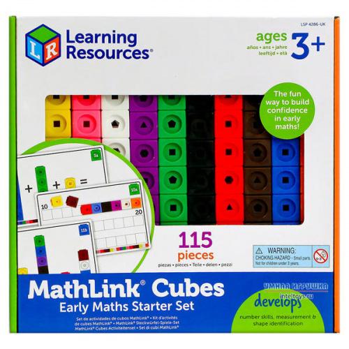 Набор Learning Resources «Соединяющиеся кубики»
