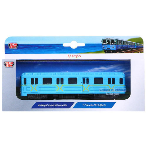 Инерционная игрушка «Вагон метро», Технопарк