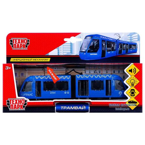 Инерционная игрушка «Трамвай с гармошкой», Технопарк