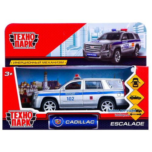 Инерционная машинка «Cadillac Escalade – Полиция», Технопарк