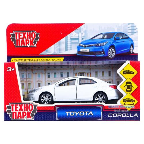 Инерционная машинка «Toyota Corolla», Технопарк 12 см