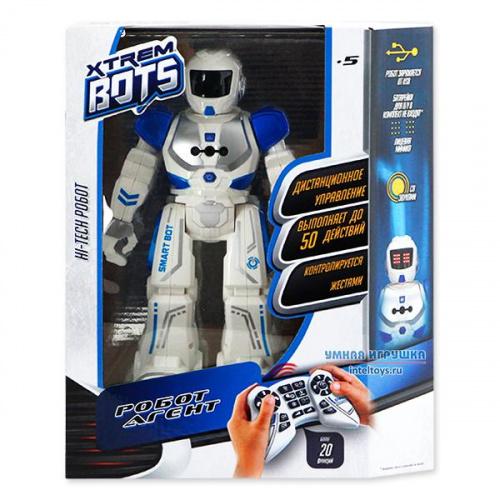 Интерактивный робот «Агент» на радиоуправлении, Xtrem Bots (Хтрем Ботс)