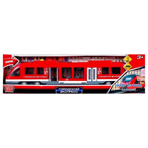 Инерционная игрушка «Городской экспресс», Технопарк, 45 см