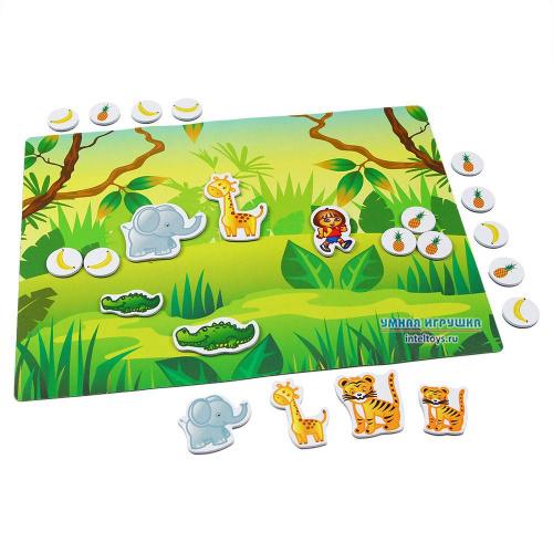 Магнитная игра «Джунгли», Десятое королевство
