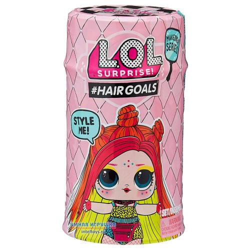 Кукла Лол с волосами 2 волна «LOL Surprise – Hairgoals», MGA Entertainment (в ассортименте)