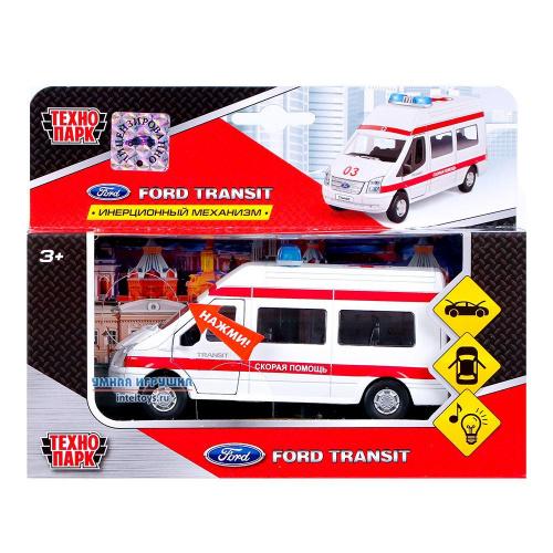 Инерционная машинка «Скорая помощь – Ford Transit», Технопарк