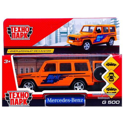Инерционная игрушка «Mercedes-Benz G-Class Спорт», Технопарк