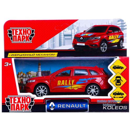 Инерционная машинка Технопарк «Renault Koleos Спорт», 12 см