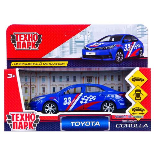 Инерционная машинка «Toyota Corolla Спорт», Технопарк 12 см
