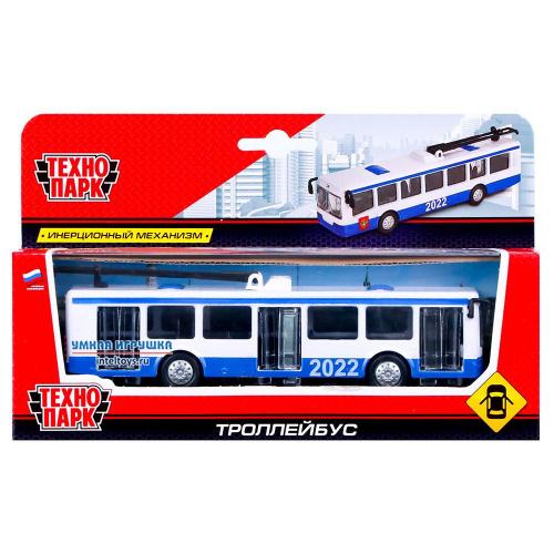 Инерционная игрушка «Троллейбус», 16,5 см, Технопарк