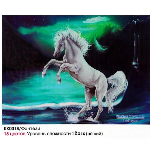 Картина «Фэнтези» по номерам на холсте, 30х40 см, Molly (Молли)