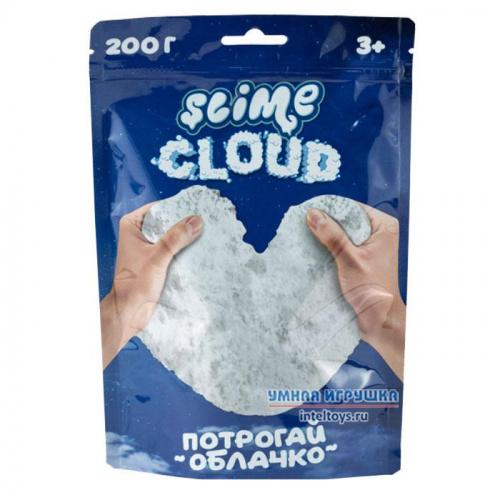 Слайм «Облачко – Cloud-Slime» с ароматом пломбира, 200 г