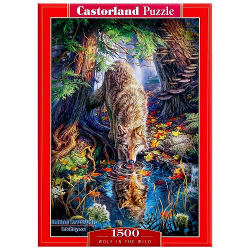 Пазл «Волк в дикой природе», Castorland (Касторленд), 1500 элементов