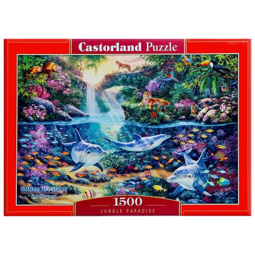 Пазл «Джунгли», Castorland (Касторленд), 1500 элементов