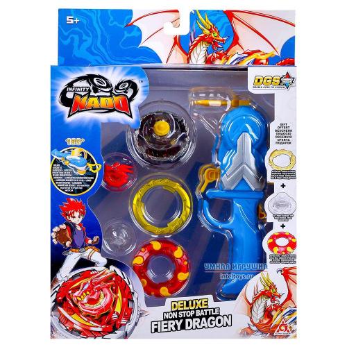 Волчок «Fiery Dragon Deluxe» (Адвансд), Infinity Nado (Инфинити Надо)