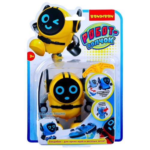 Многофункциональный робот-волчок с гироскопом, желтый, Bondibon (Бондибон)