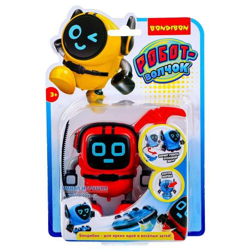 Многофункциональный робот-волчок с гироскопом, красный, Bondibon (Бондибон)