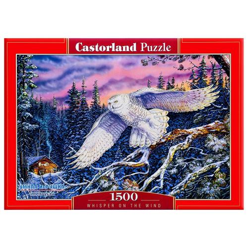 Пазл «Сова» 1500 элементов Castorland (Касторленд)