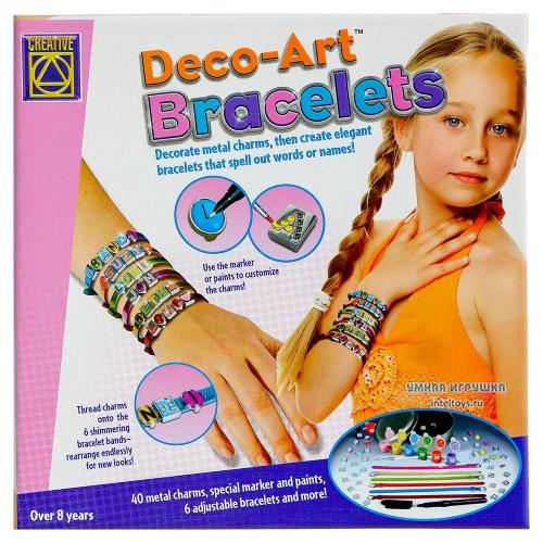 Набор для творчества «Браслеты Арт-деко», Creative (Креатив)