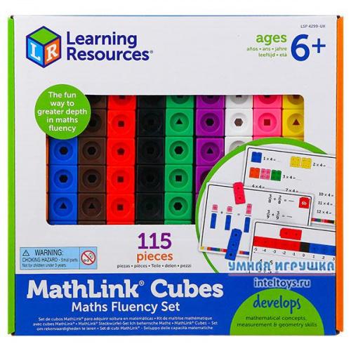 Соединяющиеся кубики «Академия математики» Learning Resources