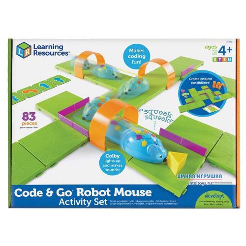 Набор Делюкс «Основы программирования – Мышиный код», Learning Resources