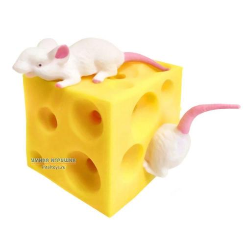 Игрушка-антистресс «Мышата в сыре», Asis (Аcис)