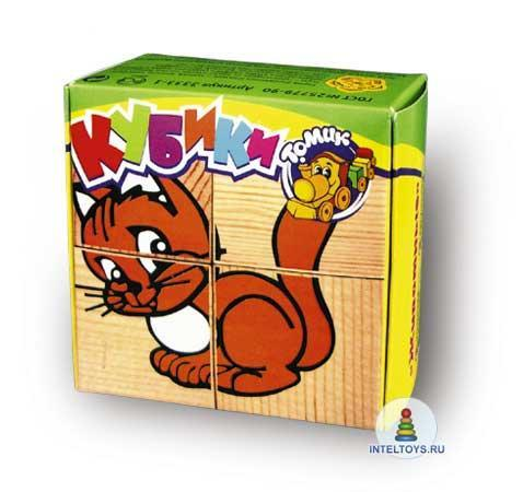 Кубики Томик «Животные»