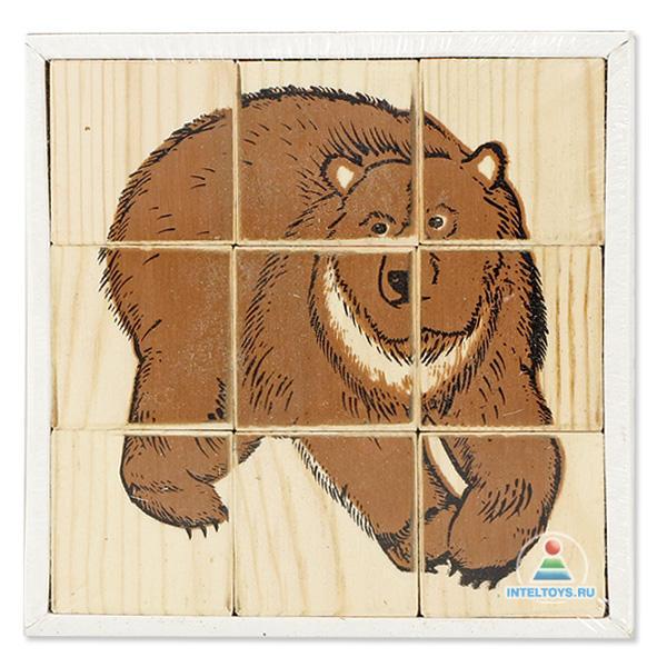 Кубики «Животные леса», Томик