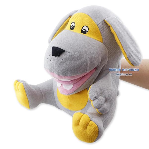 Логопедическая кукла с языком «Пёс Барбос»