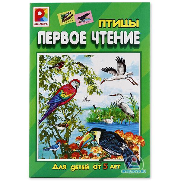 Настольная игра для обучения чтению «Первое чтение. Птицы», Радуга