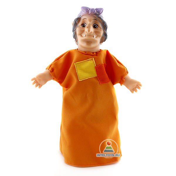 Кукла-перчатка «Баба-Яга»