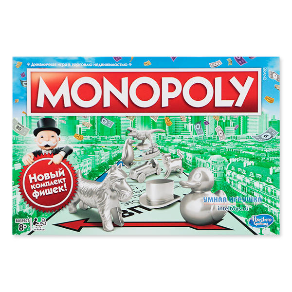 Настольная игра «Монополия» (Monopoly), Hasbro (Хасбро)