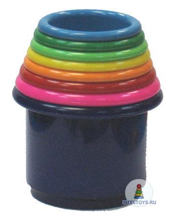 Набор стаканчиков «Занимательная пирамидка», STELLAR (Стеллар)