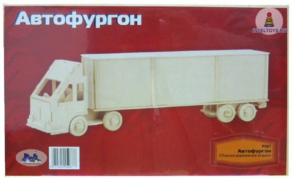 Деревянная модель сборная «Автофургон»
