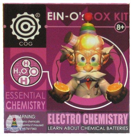 Набор для опытов Профессор Эйн «Электрохимия»