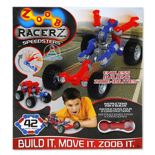 Конструктор Zoob (Зуб) Mobile Racer Speedsters, 42 элемента