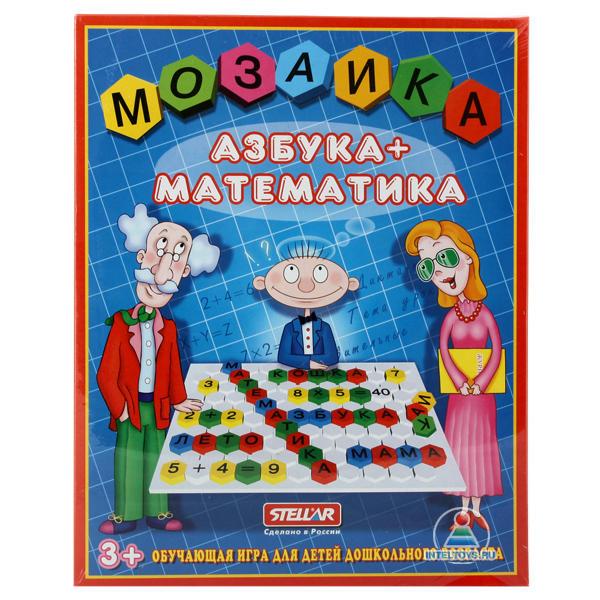 Мозаика «Азбука + Математика»